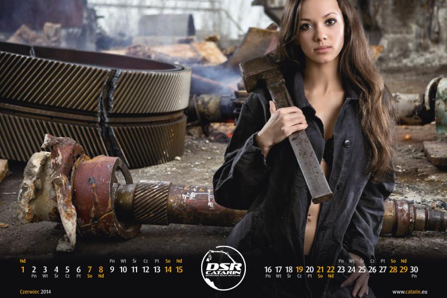 Czerwiec - Kalendarz reklamowy DSR-CATARIN