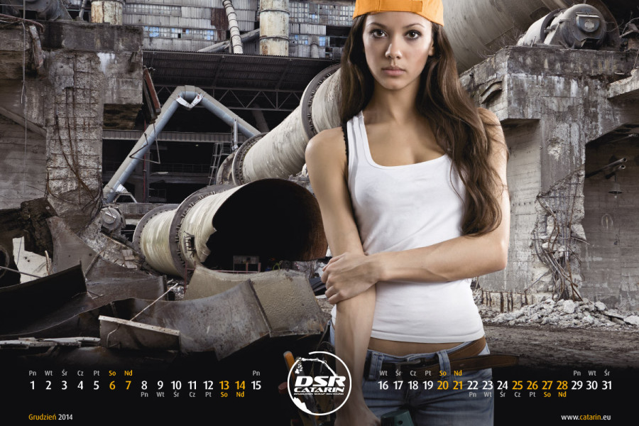 Grudzień - Kalendarz reklamowy DSR-CATARIN