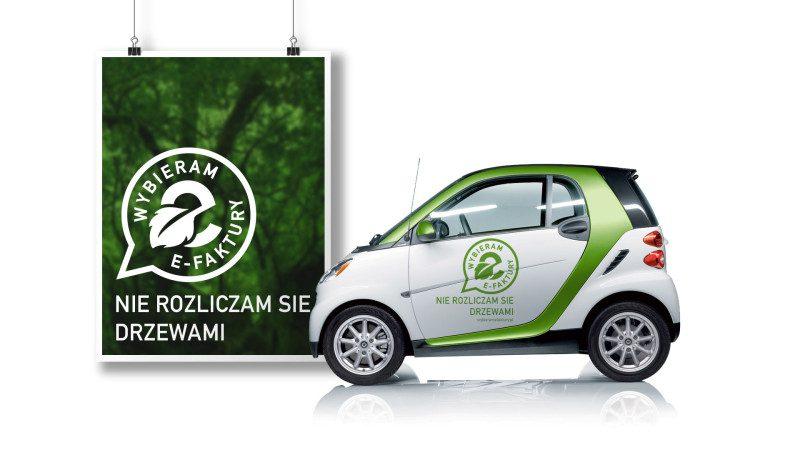 Logotyp akcji wybieram e-faktury