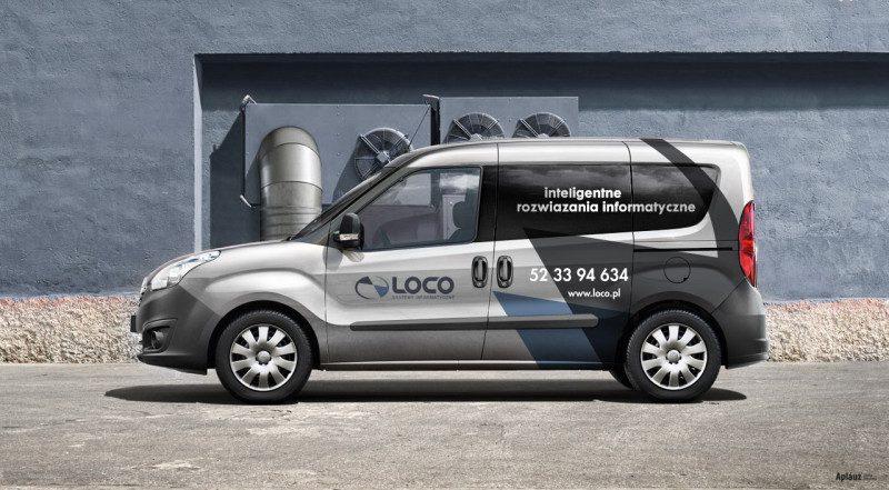 Okelejenie samochodu LOCO