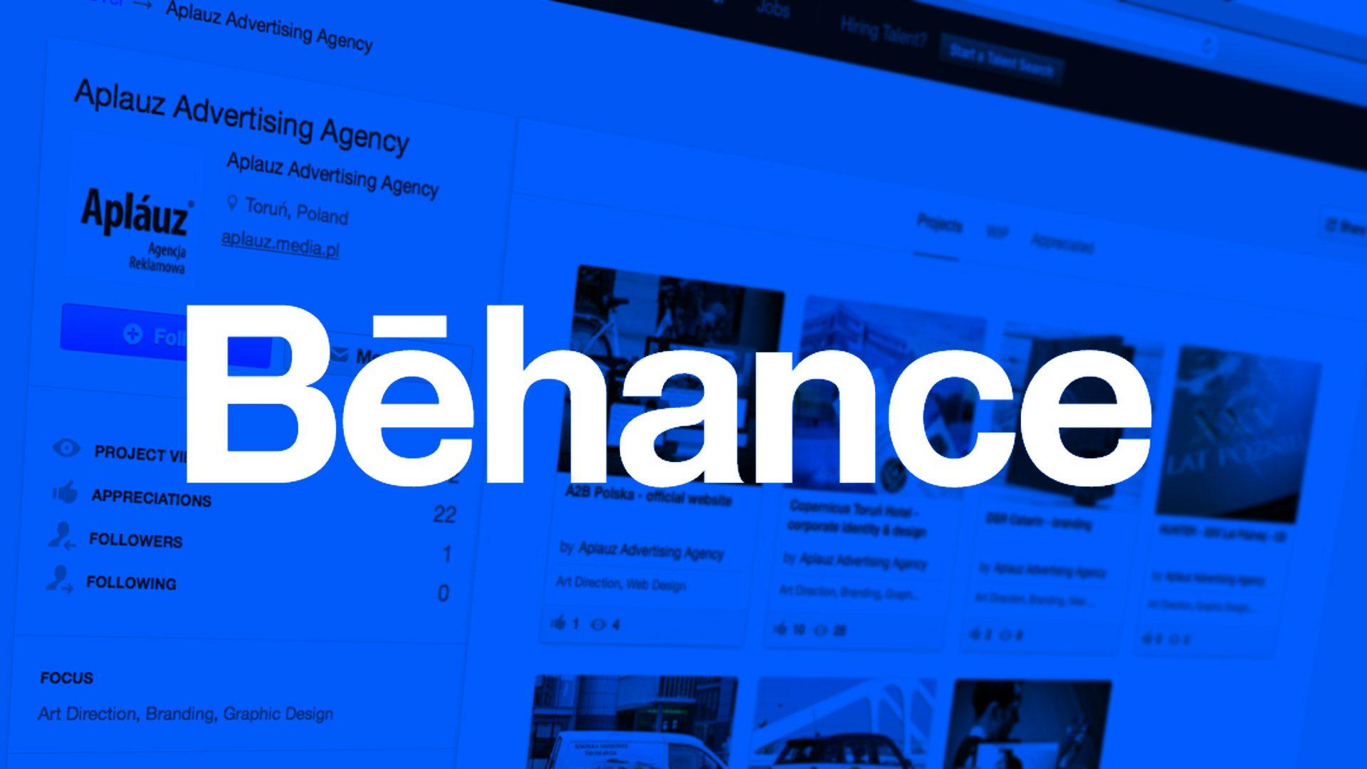 Aplauz Agencja reklamowa Toruń na Behance